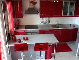 cuisine bordeaux et blanc decoration cuisine et gris indogate deco cuisine noir blanc