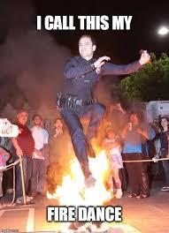 Fire Meme - man on fire imgflip