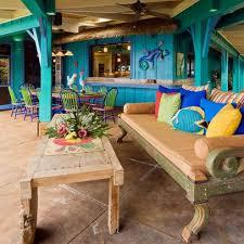 themed patio hawaiian cottage style tropical patio hawaii design