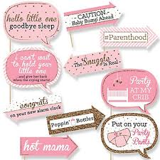 gold and pink baby shower hello one pink and gold girl baby shower theme girl themes