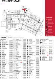 tanger outlets store list hours location pooler
