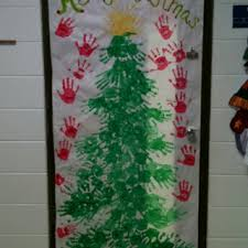 Classroom Door Christmas Decorations 56 Best Christmas Classroom Doors Images On Pinterest Christmas