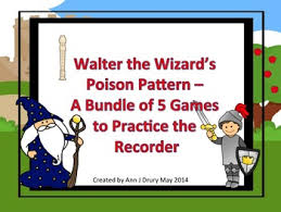 pattern practice games walter the wizard s poison pattern a bundle of games to practice