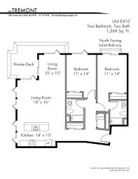 unique floor plans the tremont boston luxury apartment