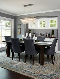 silver dining room deep silver by benjamin moore trim and cabinets simply white by