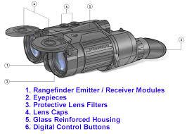 pulsar expert lrf 8x40 laser range finder binocular 1 094 yards