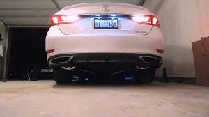 invidia q300 lexus gs 350 joez pts catback exhaust youtube