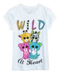 children u0027s beanie boo shirt justice beanie