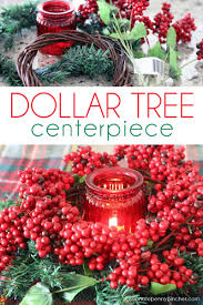 dollar tree christmas centerpiece passionate penny pincher