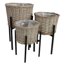 wicker plant pots planters u0026 hanging baskets from the basket company