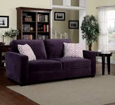 chair velvet accent chair purple donny osmond home products