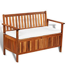 outdoor sofa with storage amazon com festnight outdoor patio garden storage bench deck box