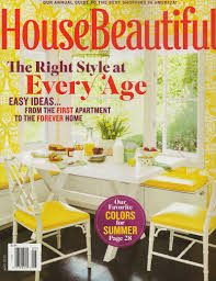 Housebeautiful Magazine by Press Tucker U0026 Marks Design
