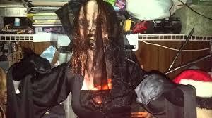 animated flaming black widow halloween prop new for 2015 spirit