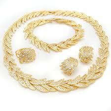 necklace sets design images Fashion 24k flower design gold plated necklace sets indian gold jpg