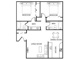 two bedroom two bath apartment floor plans 2 bed 2 bath apartment in flagstaff az aspen leaf aspen leaf