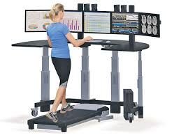 Computer Desk Treadmill The Downside Of Treadmill Desks Health Style The Kathmandu Post