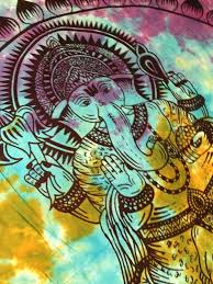 Where To Get Cheap Tapestry Hippie Tapestry Fabric Lotus Elephant Ganesh Tie Dye
