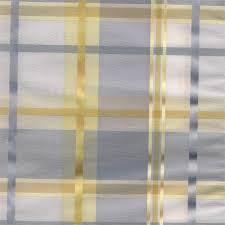Plaid Kitchen Curtains Valances by Cologne Blue Fog Plaid Fabric For Custom Window Treatments