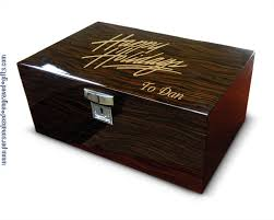 personalized engraving engraved humidors custom engraved with personal message