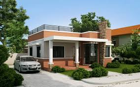 one storey house one storey modern house with roof deck home design