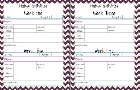 2014 planner template mormon mom planners monthly planner weekly planner yw class wednesday october 30 2013