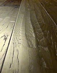scraped distressed hardwood floors