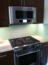 Backsplash Subway Tiles For Kitchen Surf Glass Subway Tile 3