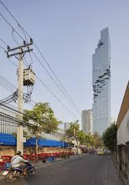 contemporary architecture bold contemporary architecture ole scheeren u0027s mahanakhon skyscraper