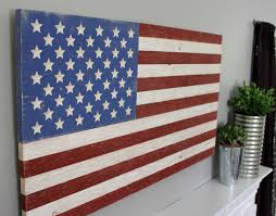 Pallet American Flag American Flag Wall Decor Roselawnlutheran
