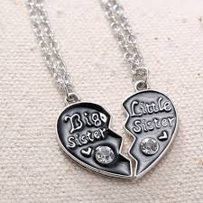 Personalized Hand Stamped Jewelry Aliexpress Com Buy Personalized Broken Heart Necklaces Big