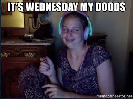 Derp Meme Generator - it s wednesday my doods liesel derp meme generator