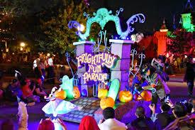 frightfully parade at mickey s