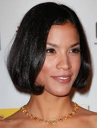 bob hairstyle with part down the middle middle part bob hairstyles elegant hairstyles haircuts modern bob