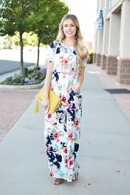 floral maxi dress in sky blue my sister u0027s closet boutique