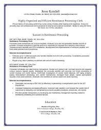 accounting clerk resume sample accounts receivable clerk resume