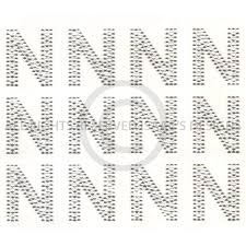 s6514 n block alphabet letter n letters isaacs designs