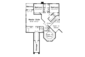Spanish Floor Plans Spanish Style House Plans Stanfield 11 084 Associated Designs