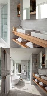 Floating Bathroom Vanities 15 Examples Of Bathroom Vanities That Have Open Shelving