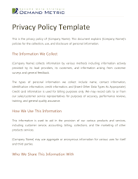 privacy policy template vnzgames