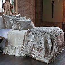 lili alessandra angie velvet champagne u0026 ivory duvet cover or set