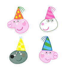 peppa pig party peppa pig kids party supplies masks pack of 8 party supplies