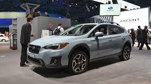 subaru truck 2018 2018 subaru crosstrek gets more power fresh look for new york