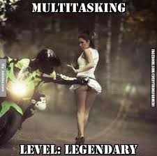 Level Meme - multitasking level legendary