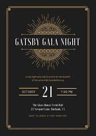 gatsby invitations great gatsby invitation template 340 270 904566787 ae5p portrait