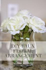 Silk Floral Arrangements Diy Tutorial Silk Floral Arrangement Airelle Snyder