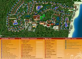 Riviera Maya Map Sandos Caracol Eco Resort U0026 Spa Travel By Bob