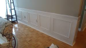 wall decor cool wall decoration with wainscoting ideas plus light