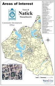 Massachusetts Town Map by Natick Areas Of Interest Map Natick Massachusetts U2022 Mappery