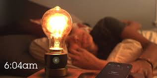 light bulbs controlled by iphone emberlight the iphone controlled device than turns any light into